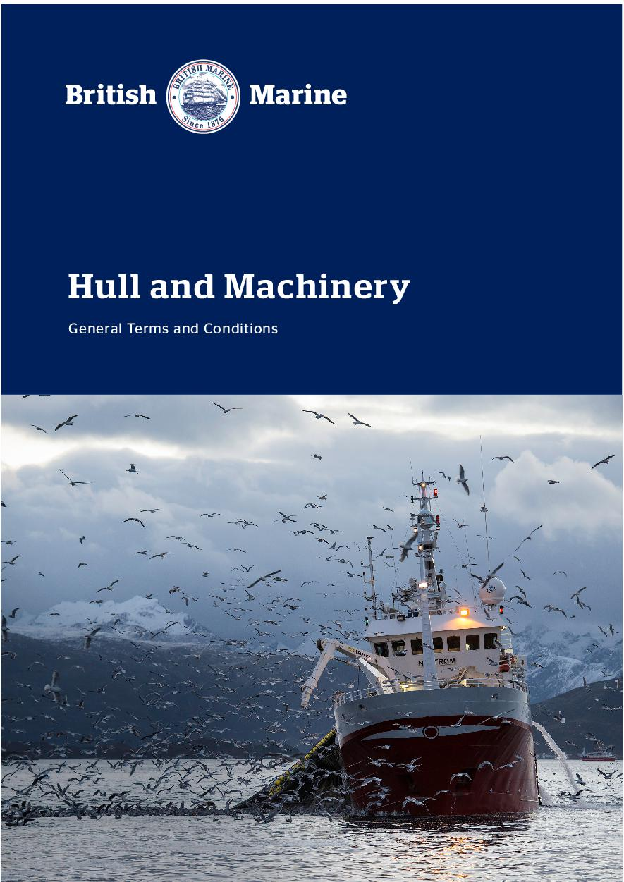 Hull and Machinery Terms & Conditions 2019
