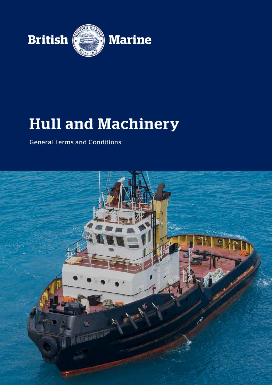 Hull and Machinery Terms & Conditions 2021
